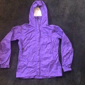 Marmot rain jacket S/P in purple
